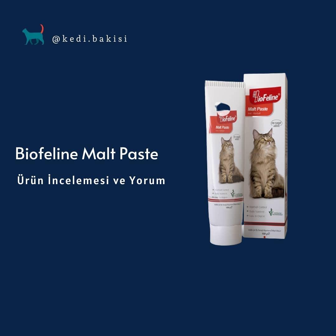 Biofeline Malt, Kitten paste ve Somon Yağı Ürün İncelemesi